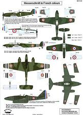 Berna Decals 1/72 MESSERSCHIMTT AIRCRAFT IN FRENCH COLORS