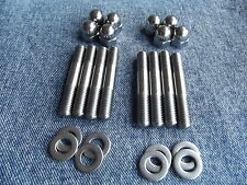 Honda CB750SC Nighthawk '82 - 83 Stainless Steel Exhaust Stud Set