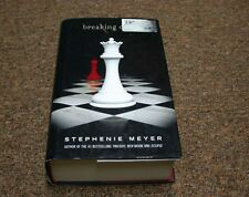 STEPHENIE MEYER hardcover book SERIES: TWILGHT,   BREAKING DAWN  first edition