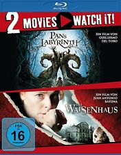 2 DVDs * 2 MOVIE - PANS LABYRINTH / DAS WAISENHAUS # NEU OVP §