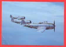 AK - Postkarte : US Air Force  P47