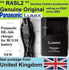 Original Panasonic charger DE-A66 DMW-BCG10e DMC- 3D1 TZ7 TZ6 TZ8 TZ20 TZ25 TZ30