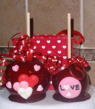 VALENTINES DAY CANDY RED APPLE/APPLES PARTY FAVOR/FAVORS