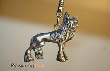 Keychain (Key ring) Chinese Crested dog