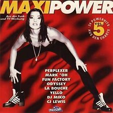 Maxi Power 5 (1994) Perplexer, Mark 'Oh, Fun Factory, Odyssey, Yello.. [2 CD]