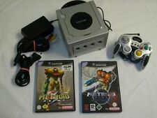 GameCube Konsole + Controller + Metroid Prime 1 + 2 *Si