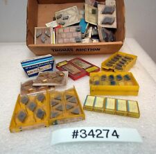 Large Lot of Assorted Carbide Inserts (Inv.34274)