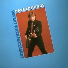 "12"" LP Dave Edmunds Repeat When Necessary 70`s Warner Swan Song"