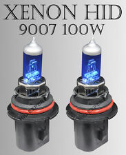 TMZ 9007 /HB5 100W pair High/ Low Xenon HID White 12V Gas Light Bulbs Gj3 A V22