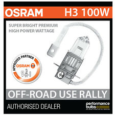 NEW! 62201SBP OSRAM H3 100W SUPER BRIGHT PREMIUM OFF-ROAD RALLY BULB (x1)