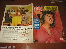 RIVISTA TEMPO 1957/51=DORIAN GRAY=JULINHO FIORENTINA=ANTONIO BALDINI=