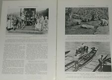 1939 magazine articles on the Thames River, history, people, etc