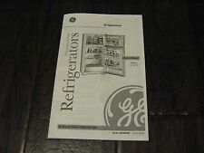 GE Owner's Manual for Top-Mount No-Frost Refrigerators – Models 14, 16, 19