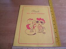 Foster Farms chicken 1970's vintage cookbook chick mascot Almost all about