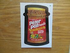 2004 WACKY PACKAGES ANS1 SERIES 1 PETER PANHANDLE CARD SIGNED JAY LYNCH,POA