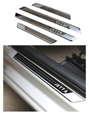 For VW Jetta Stainless steel Outer Door sill scuff plates 4 PCS