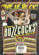 VIVE LE ROCK! UK Issue 21 2014 BUZZCOCKS Brian Setzer Johnny Winter CLASH POSTER