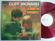 TEST PRESS RED VINYL / CLIFF RICHARD TWO A PENNY