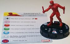 DAREDEVIL #007 Civil War Storyline Marvel HeroClix