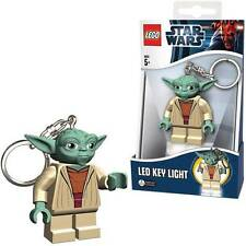 ORIGINAL STAR WARS LEGO YODA LED KEY RING LIGHT 2014 *NEW*