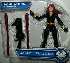 "Marvel Universe BLACK WIDOW 3.75"" Figure 2013 Inferno Cannon Avengers SHIELD"