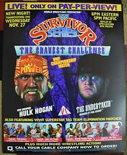 WWE WWF Survivor Series 1991 Poster 16x20 Undertaker