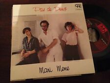 "PAS DE DEUX - MANI MEME 7"" SINGLE SPAIN CFE - BELGIAN SYNTH POP"