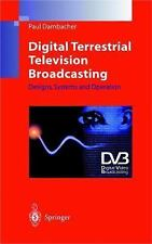 Digital Terrestrial Television Broadcasting: Designs, Systems and Oper-ExLibrary