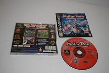 +++ MOTOR TOON Grand Prix Sony Playstation 1 PS1 Game COMPLETE TESTED