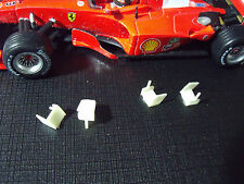 6  MINI WINGS  1/43  FOR  FERRARI  F1  VROOM  6  AILERONS  A  PEINDRE