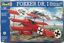 Revell Germany WWI German Fokker Dr.I Tri-Plane fighter Richthofen model 1/28