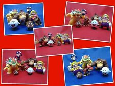 NEW Super Mario Bros figure set @ MrsMario's - FREE P&P- 7 figures inc Bowser