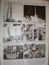 Photo article USAF luanch space rocket Pioneer cape canaveral 1958 USA