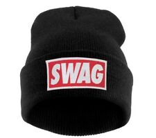 BEANIE HAT WASTED HATS Paris London  High Jordan Swag  Mustach Moro Tiger Fame