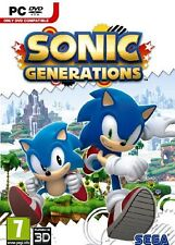 Sonic Generations - PC (Brand New, Sealed)