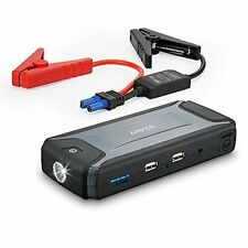 Compact Car Jump Starter & Portable Charger by Anker w/ Built-In LED Flashlight