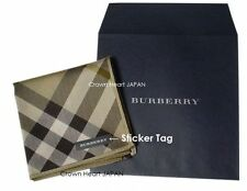 Burberry Licensed Japan Thin Handkerchief / Mini-Neckscarf Diagonal Tartan Check