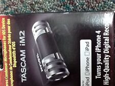 Tascam iM2 Stero Microphone for Apple IOS products