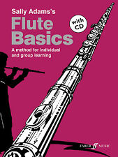 Flute Basics Pupils with CD NEW EDITION Instrumental Solo FABER Music BOOK & CD