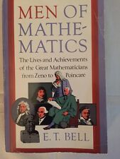 Men of Mathematics Lives And Achievements Of Mathematicians E T Bell Paperback