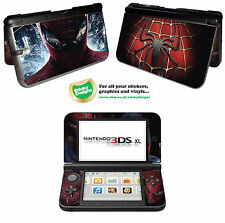 Spiderman Vinyl Skin Sticker for Nintendo 3DS XL