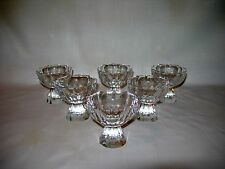 Set of 12~Antique/Vintage Crystal Glasses~Flint?~the Crystal Rings like a Bell