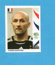 PANINI-GERMANY 2006-Figurina n.456- BARTHEZ - FRANCIA -NEW BLACK