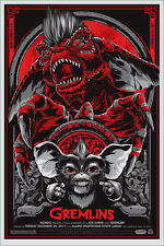 Gremlins Movie Poster Variant Mondo Art Print Ken Taylor Very Rare