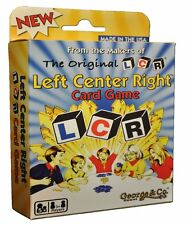 LCR CARD GAME FREE SHIPPING LEFT CENTER RIGHT FAMILY BAR PUB