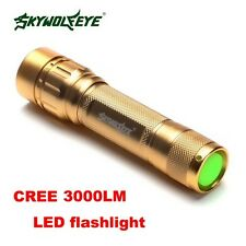 Tractical 4000 Lumens 3 Modes CREE XML T6 Zoomable 18650 Flashlight Torch Lamp