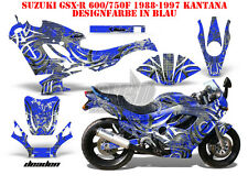 AMR RACING DEKOR GRAPHIC KIT SUZUKI GSX-R GSX R 600/750/1000/1300 DEADEN B