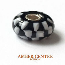 GENUINE MURANO GLASS TROLLBEADS CHARM- CHESS - 61399 RRP £25!!!