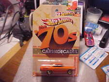 Hot Wheels Cars of the Decades the 70's '70 Plymouth Road Runner!!