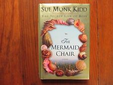 "SUE  MONK  KIDD  Signed Book (""THE  MERMAID  CHAIR""-2005 First  Edition Hardback"